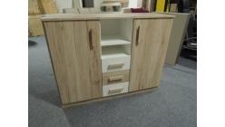 Nová skříňka-přebalovací pult divoký dub