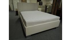 Nová bílá boxspring postel 140x200