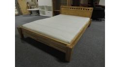 Nová manželská postel masiv dub