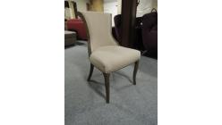 Nová stylová židle půlkulatá záda