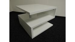 Nový bílý konferenční stolek S lesk
