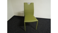 Nová zelená židle koženka