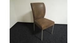 Nová hnědá židle mohutné opěradlo