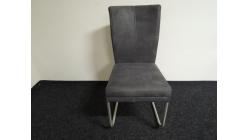 Nová šedá židle dvojitý sedák