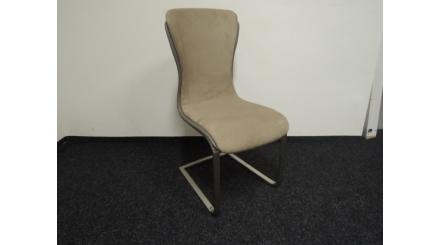 Nová hnědá tvarovaná židle