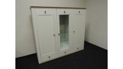 Nová velká hnědobílá skříňka patina sonoma