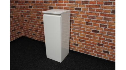 Nová bílá koupelnová skříňka lesk 1 dvířka