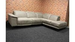 Nová béžová relax sedačka rohová
