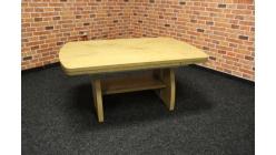 Nový hnědý konferenční stůl zvedací