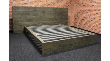 Nová luxusní postel masiv Palisandr