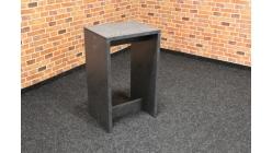 Nový šedý odkládací stolek