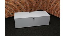 Nový světle modrý TV stolek