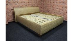Nová stylová ratan manžeská postel