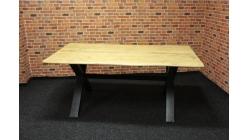 Nový stylový jídelní stůl nohy X