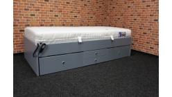 Nová modrá postel jednolůžko komplet