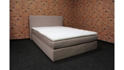 Nová postel boxspring růžová 140