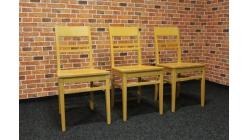Nová 3x židle masiv buk