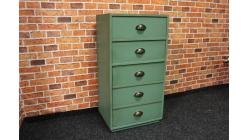 Nová zelená stylová skříňka