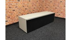 Nový černobéžový TV stolek SOUND
