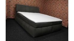 Nová hnědá boxspring postel komplet