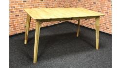 Nový jídelní stůl masiv dub retro rozkládací