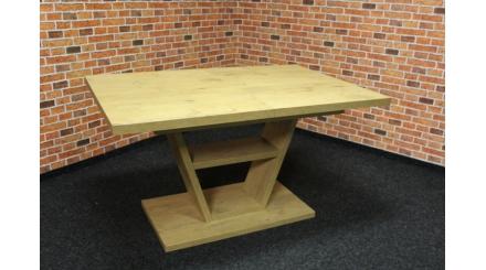 Nový hnědý jídelní stůl nohy V