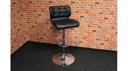 Nová černá barová židle