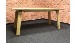 Nový selský jídelní stůl masiv dub