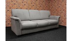 Nový šedobéžový gauč látka