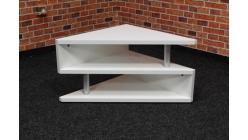 Nový bílý konferenční stůl trojúhelník