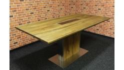 Nový masiv jídelní stůl nerez GILBERTO