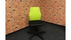 Nová zelenočerná kancelářská židle
