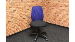 Nová modročerná kancelářská židle
