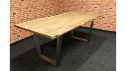 Nový stylový masiv jídelní stůl WOODFORD