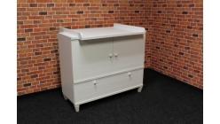 Nová bílá stylová skříňka - přebalovací pult