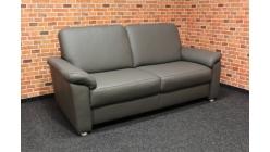 Nový šedý značkový gauč kůže