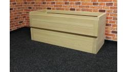 Nová masiv dub skříňka pod umyvadlo CAPRI