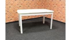 Nový bílý jídelní stůl rozkládací