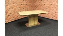 Nový hnědý jídelní stůl rozkládací DONNIE