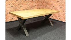 Nový stylový masiv jídelní stůl TODD
