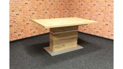 Nový hnědý jídelní stůl MIRA