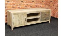 Nový stylový TV stolek recyklované dřevo