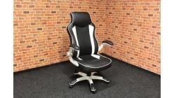 Nová černobílá kancelářská židle