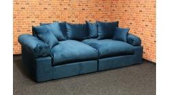 Nové tyrkysové big sofa LIONORE