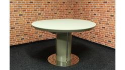 Nový kulatý jídelní stůl kapučíno DANTE
