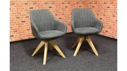 Nové 2x otočné křesílko-židle RELAX