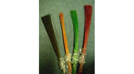 barevná tráva