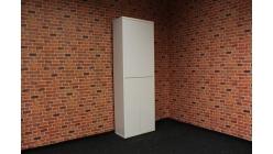 Nová bílá policová skříň lesk CABINO