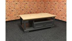Nový stylový konferenční stůl VARESE šedohnědý