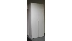 Nová vysoká bílá skříň lesk